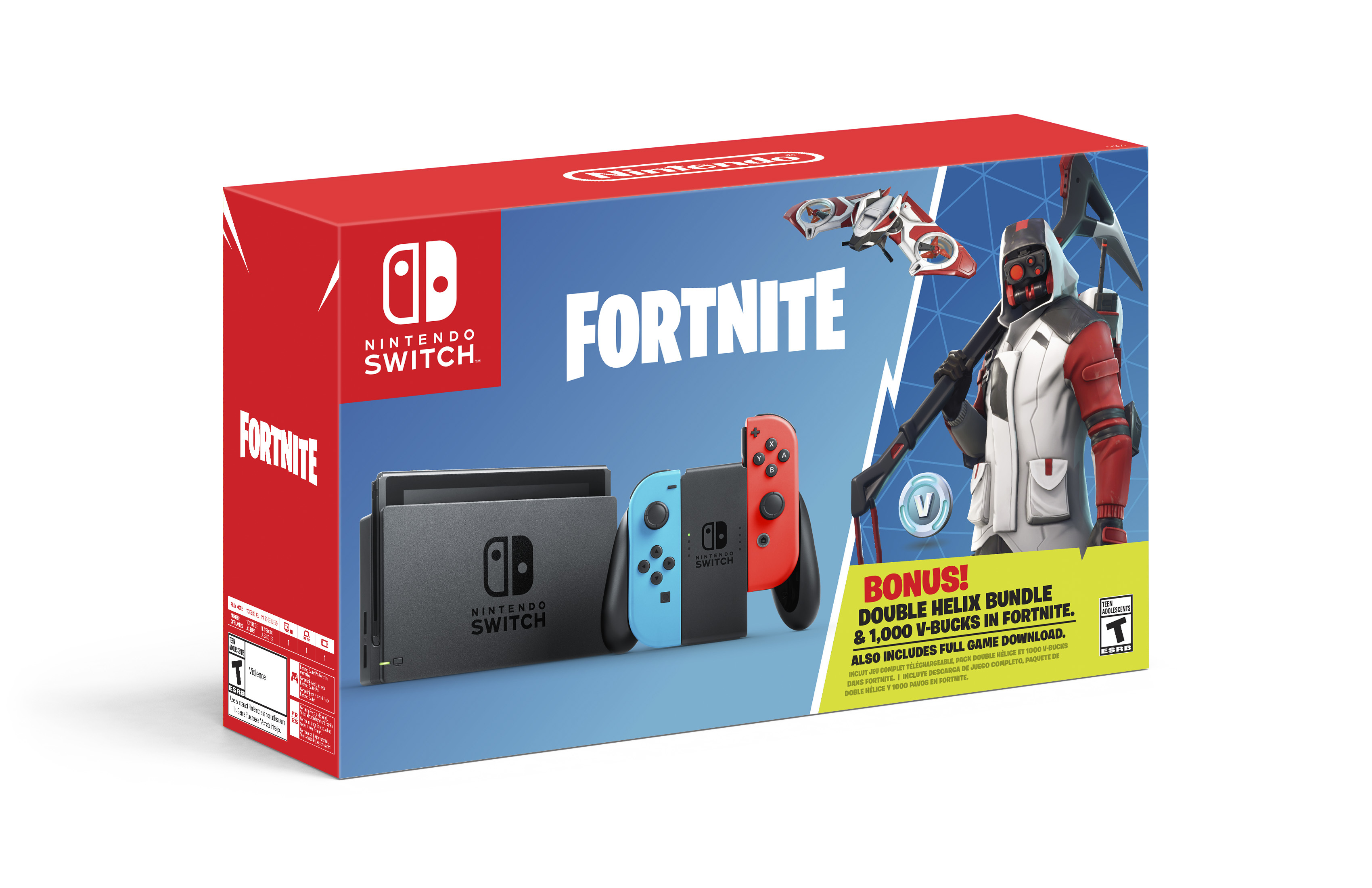 Fortnite protagonizará un nuevo pack con Nintendo Switch