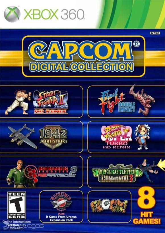 Capcom Digital Collection Para Xbox 360 3djuegos