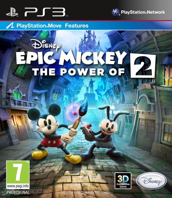 Epic Mickey 2 El Retorno De Dos Heroes Para Ps3 3djuegos