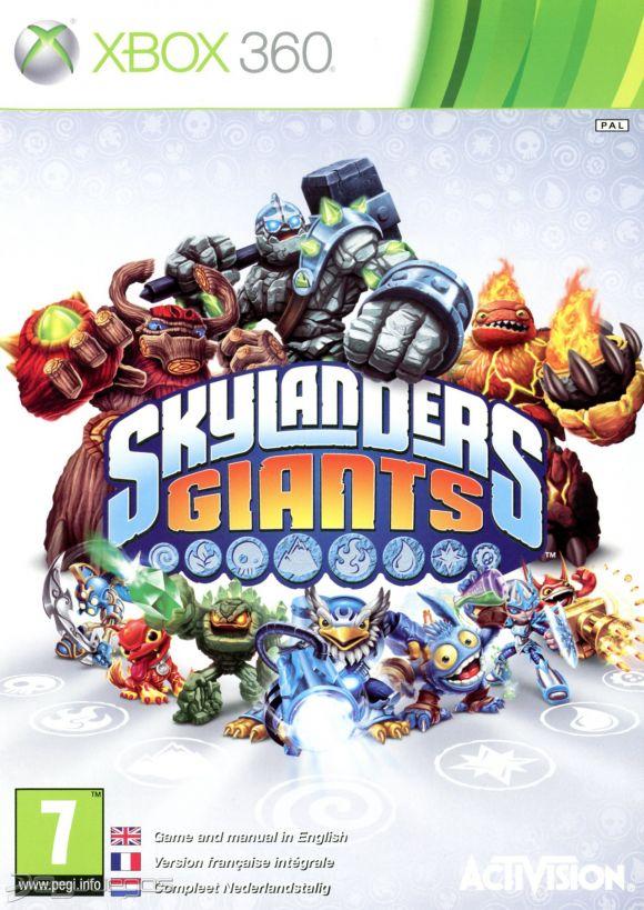 Skylanders Giants Para Xbox 360 3djuegos
