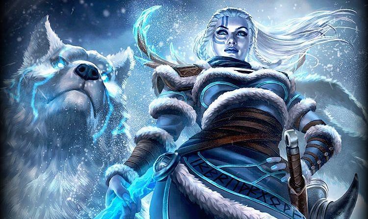 Skadi y su lobo Kaldr es la nueva incorporación para SMITE, la diosa del invierno en la mitología nórdica