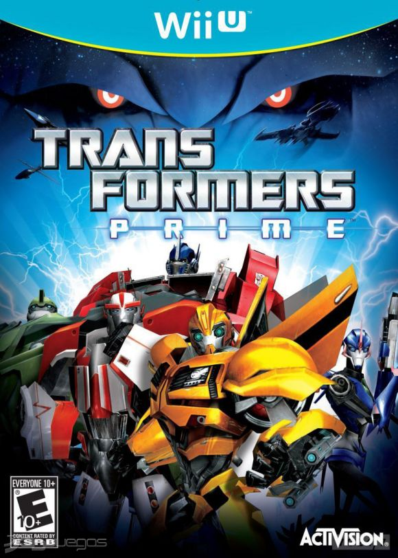 Carátula oficial de Transformers Prime - Wii U - 3DJuegos