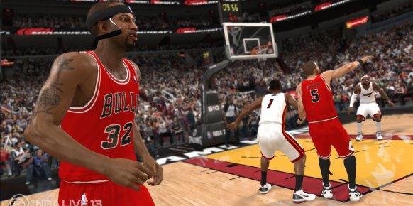 Imagen del cancelado: NBA Live 13