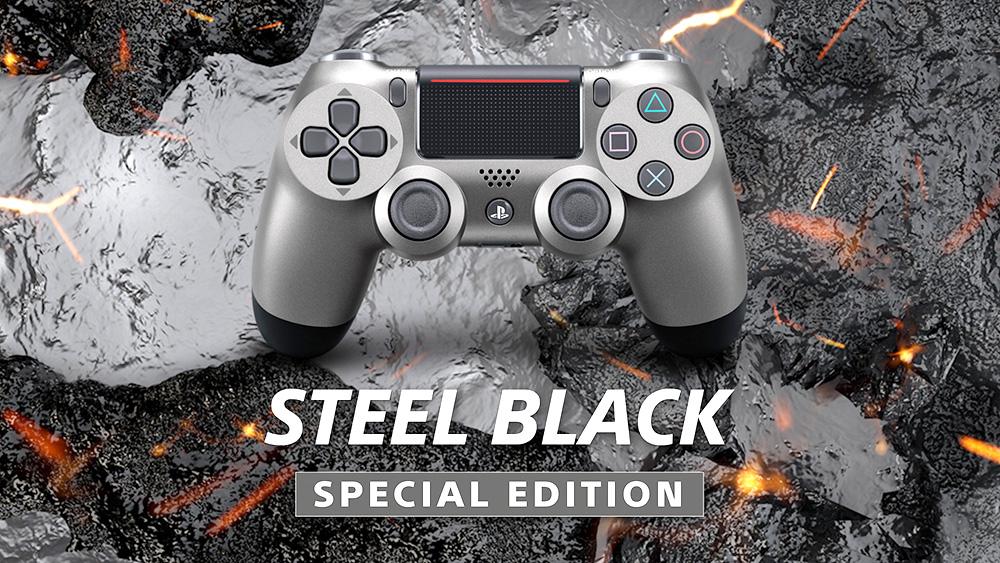 Sony presenta dos nuevos DualShock 4: Midnight Blue y Steel Black
