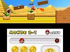 New Super Mario Bros 2 - Pantalla