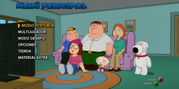 Family Guy Back to the Multiverse análisis