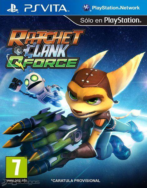Carátula oficial de Ratchet & Clank: QForce - Vita - 3DJuegos