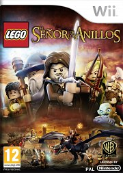 Carátula de LEGO El Señor de los Anillos - Wii