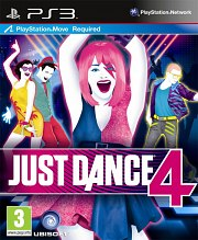 Carátula de Just Dance 4 - PS3