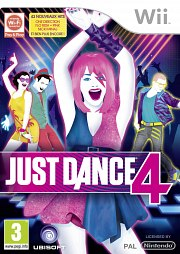Carátula de Just Dance 4 - Wii