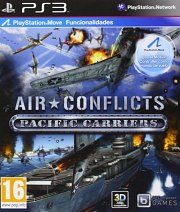 Carátula de Air Conflicts: Pacific Carriers - PS3