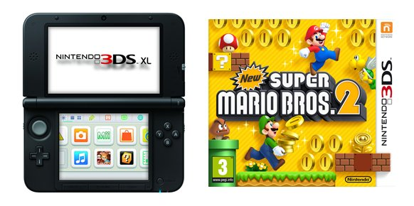 Top Japon 3ds Xl Y New Super Mario Bros 2 Y Continuan Dominando El