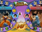 Dragon Ball Z Budokai HD - Pantalla