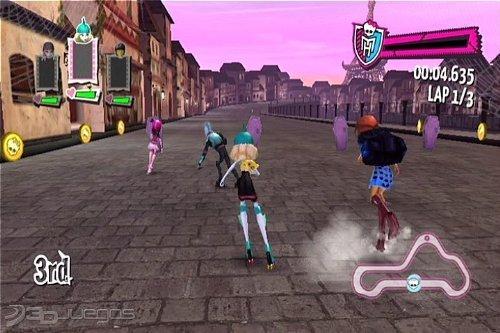 Imgenes de Monster High El Patinaje Laberntico para Wii  3DJuegos