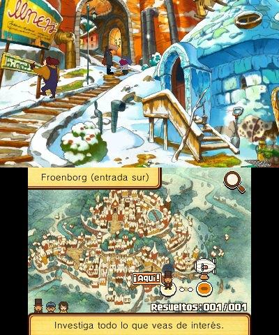 Profesor Layton y el Legado Ashalanti 3DS