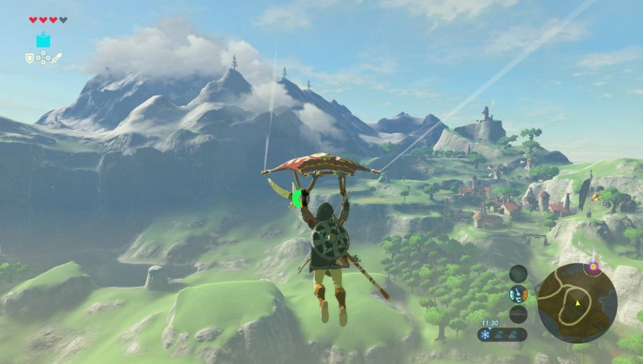 Zelda Breath of the Wild análisis