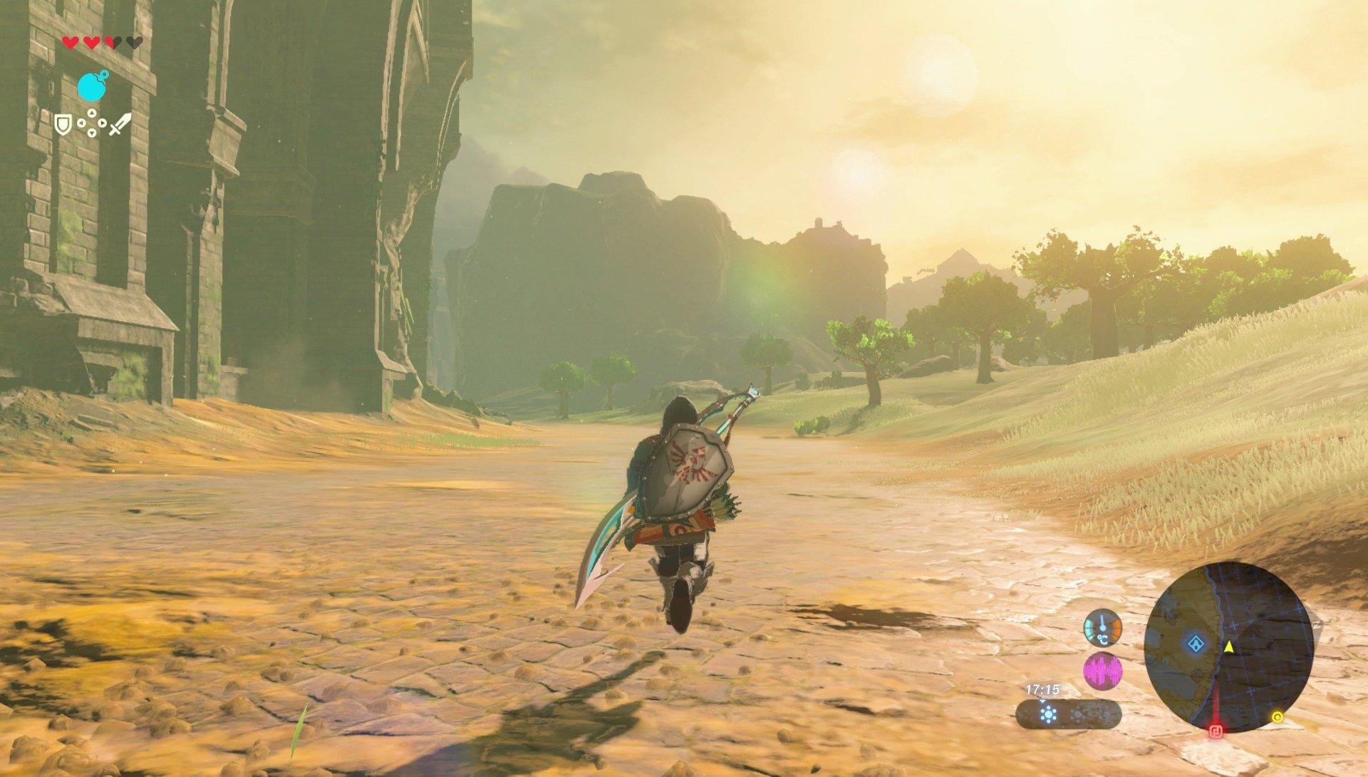 Analisis De The Legend Of Zelda Breath Of The Wild Para Nintendo