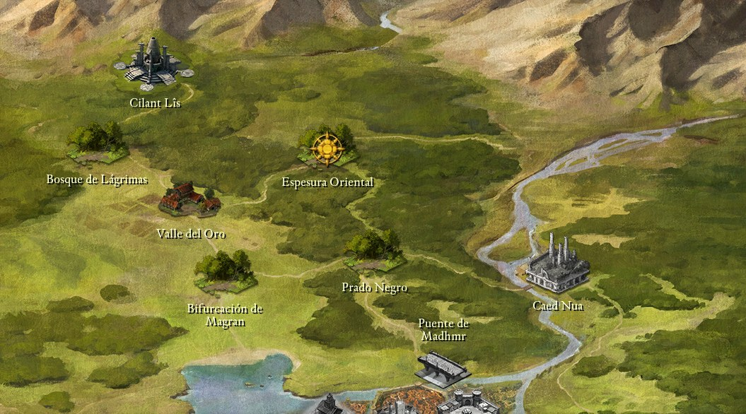 Mapa Pillars Of Eternity.Mapa Pillars Of Eternity Mapa