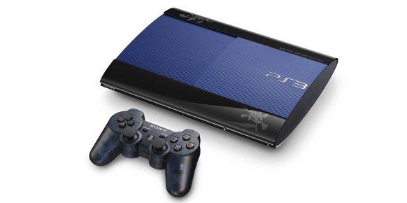 PlayStation 3 Super Slim de 250 GB diseñada con el estilo Metal Gear Rising: Revengeance.