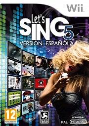 Carátula de Let's Sing 5 - Wii