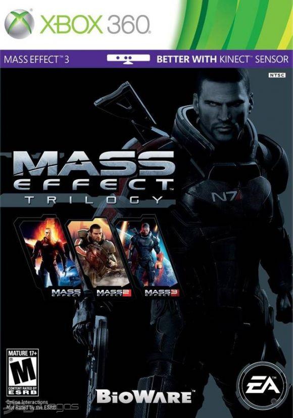 Mass effect trilogy xbox 360 *works w/ xbox one! *factory sealed.