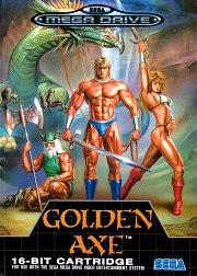 Carátula de Golden Axe - Megadrive