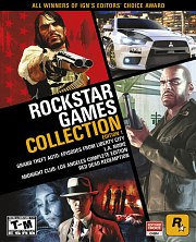 Carátula de Rockstar Games Collection 1 - PS3