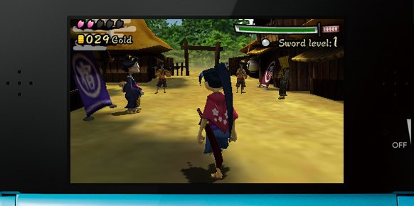 Hana Samurai Art of the Sword 3DS