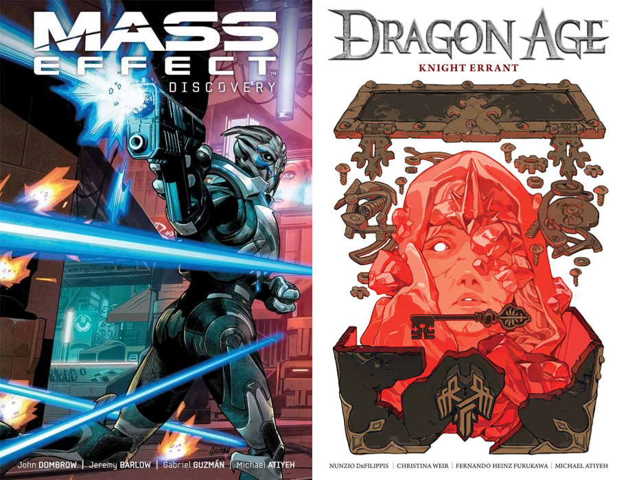 Dark Horse prepara nuevos cómics de Mass Effect y Dragon Age