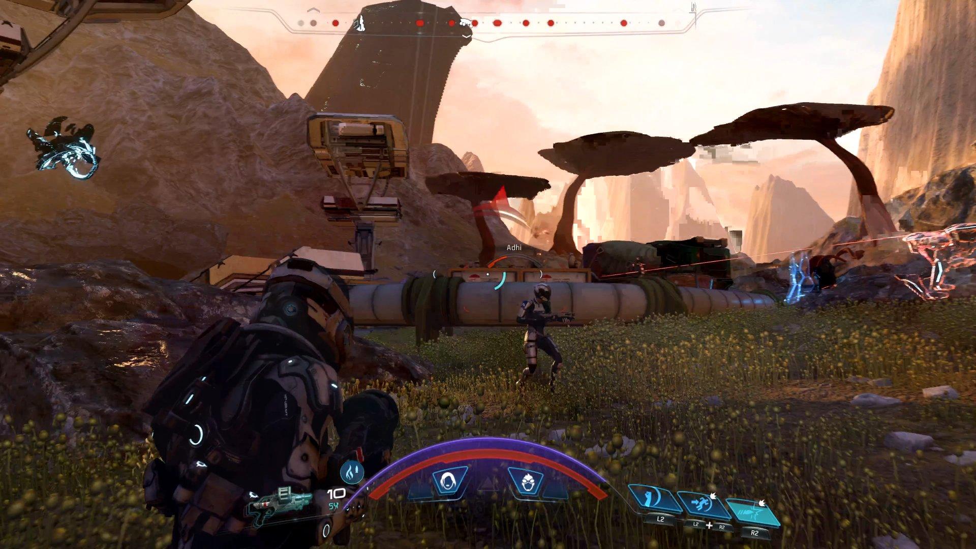 Resultado de imagen para Mass Effect: Andrómeda combate