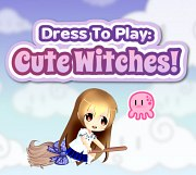 Carátula de Dress to Play: Cute Witches! - 3DS