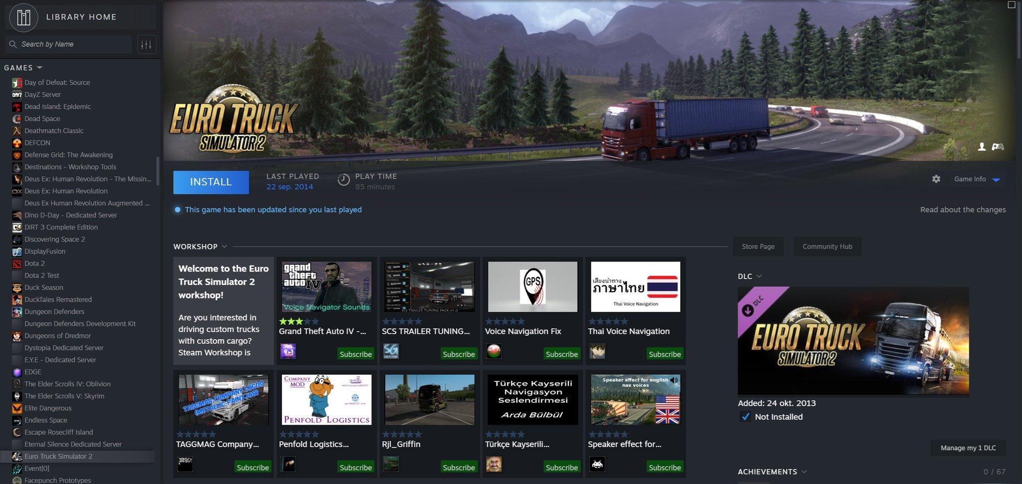 Este es la nueva interfaz de Steam según una filtración