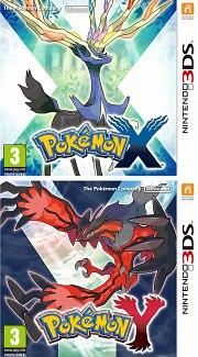 Carátula de Pokémon X / Y - 3DS
