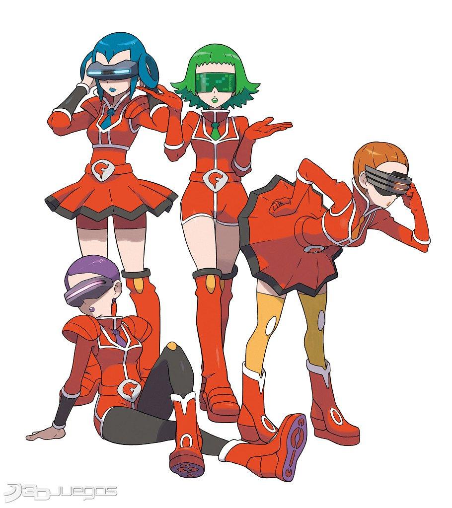 X And Y Anime Characters : Imágenes de pokémon y para ds djuegos