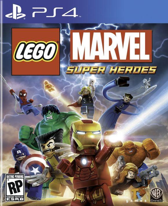 Lego Marvel Super Heroes Para Ps4 3djuegos