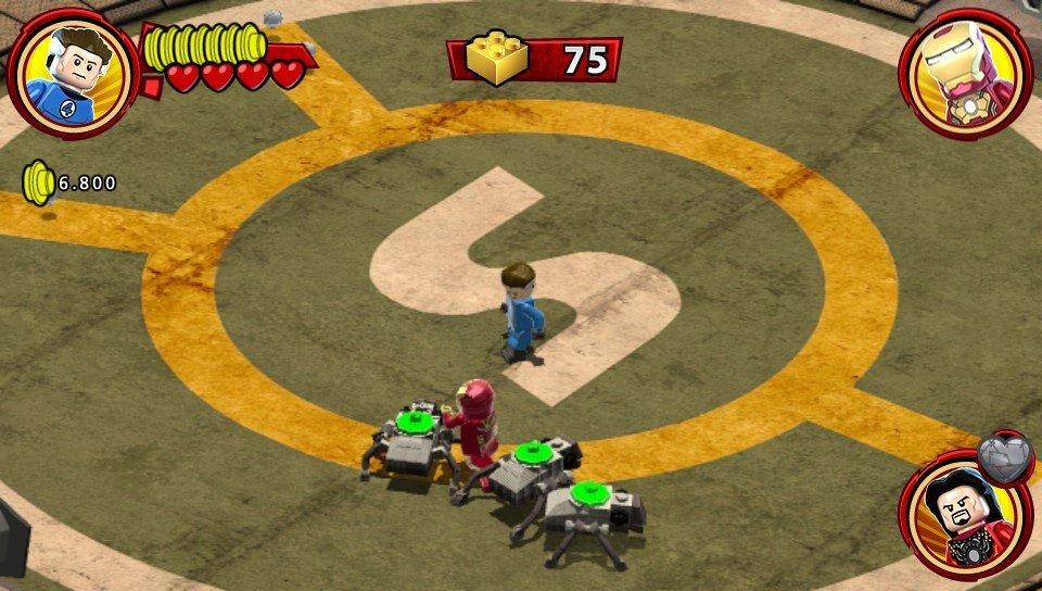 Análisis de LEGO Marvel Super Heroes Universo en peligro para Vita ...