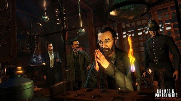 Sherlock Holmes Crimes & Punishments análisis
