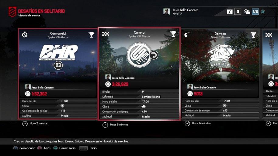 DriveClub análisis