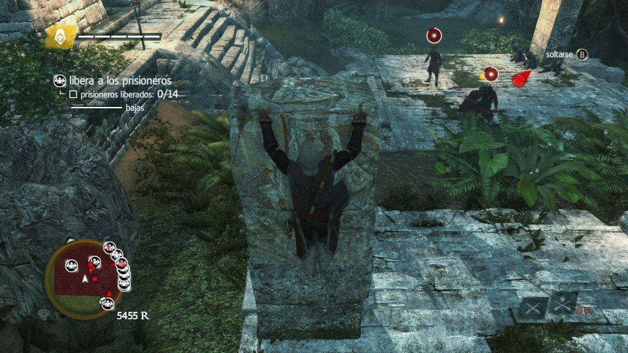 Assassin's Creed 4 Black Flag para Wii U - 3DJuegos