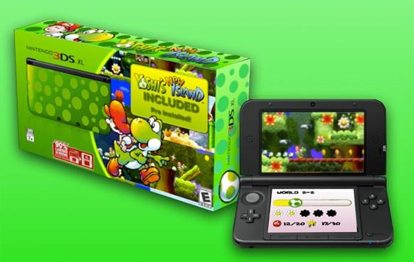 Yoshi's New Island podría contar con su propia edición especial de Nintendo 3DS XL