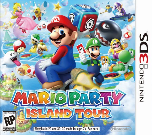 Mario Party Island Tour Para 3ds 3djuegos