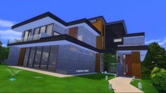 Recrean la casa de Parasite en Los Sims 4 y el resultado es impresionante