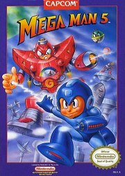 Carátula de Mega Man 5 - NES