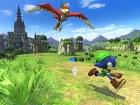 Sonic Lost World - Pantalla