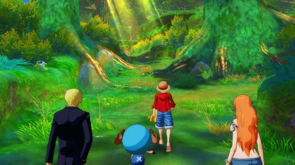 One Piece Unlimited World Red: One Piece Unlimited World Red: Avance