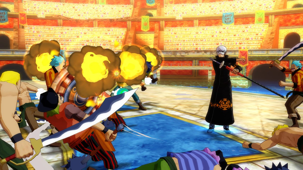 One piece unlimited world red para wii u 3djuegos for One piece juego