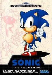 Carátula de Sonic The Hedgehog - Megadrive