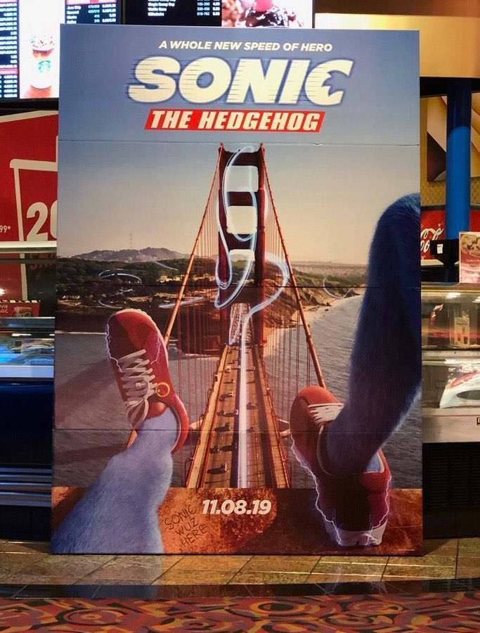 Filtrado el segundo cartel de la película de Sonic the Hedgehog